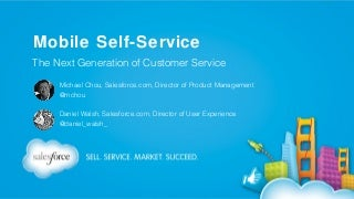 Mobile Self-Service: The Next Generation of Customer Service
