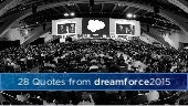 28 Quotes from Dreamforce 2015