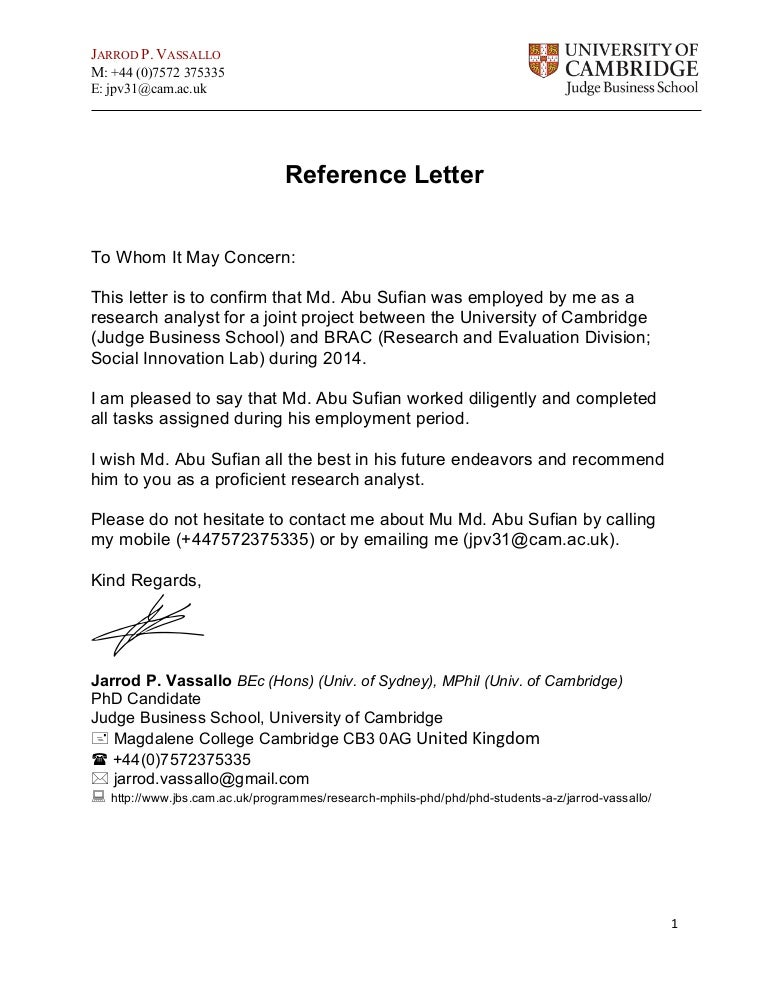 reference letter outline md  abu sufian