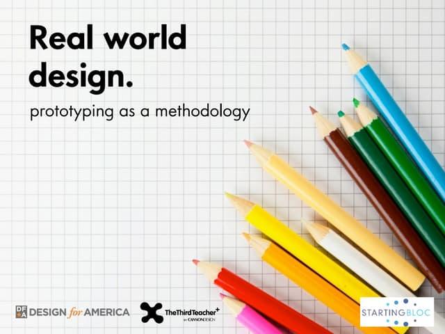 StartingBloc 2012: Design Thinking & Prototyping Workshop