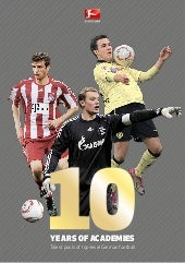 Bundesliga Report - 10 years of academies - Talent pools of top-level German football