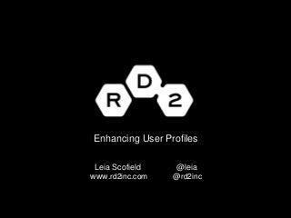 Enhancing WordPress User Profiles