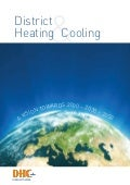District Heating & Cooling - A vision towards 2020 - 2030 - 2050