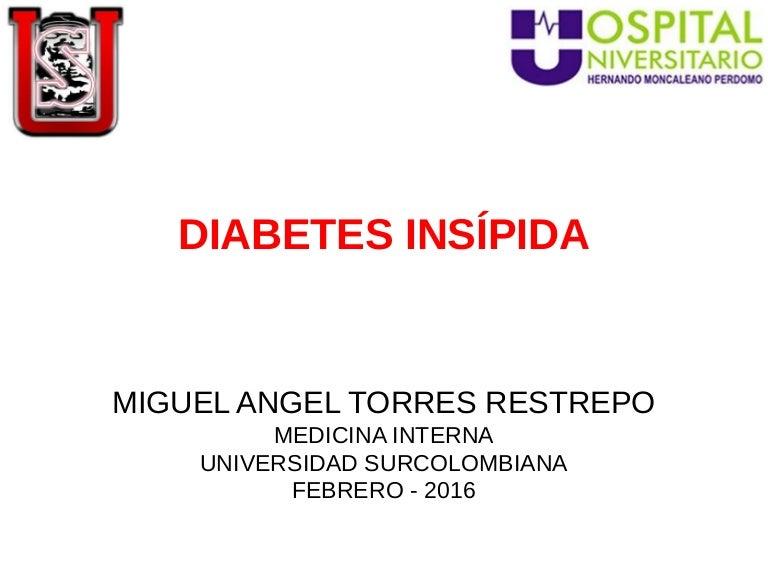 ¿Por qué puede ser difícil diagnosticar la diabetes insípida?