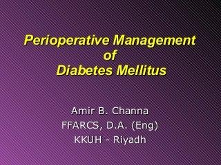kaderarts diabetes mellitus