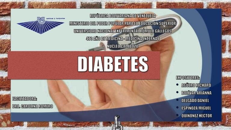 diabetes compensada y descompensada en inglés