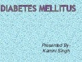 Diabetes mellitus & oral surgery
