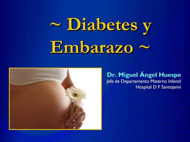 Diabetes y embarazo huespe