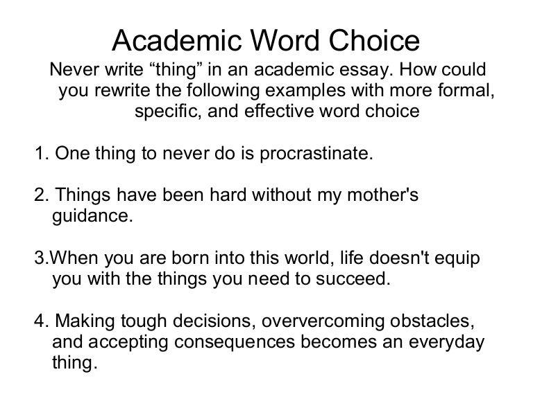 Diagnostic essay revision lesson