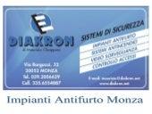Diakron Made in Brianza Impianti antifurto Monza e Brianza