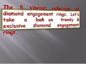 5 Top Collection of Diamond  Engagement Rings by Adiamor