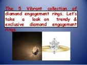5 Top Collection of Diamond  Engagement Rings
