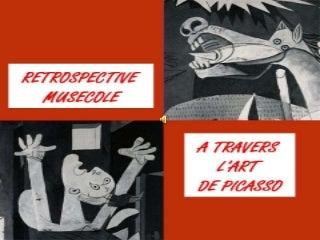 Musecole Retrospective A travers l'art de Picasso