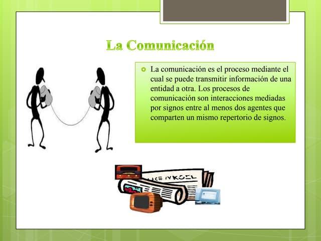 Diapositivas de comunicación