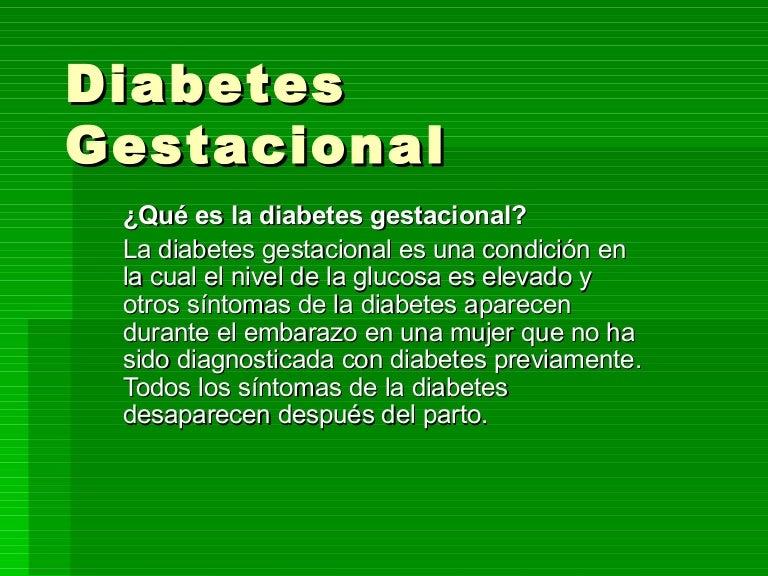 síntomas de diabetes gestacional a las 25 semanas
