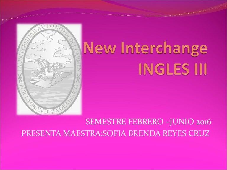 Unidad 8 Inglés Iii