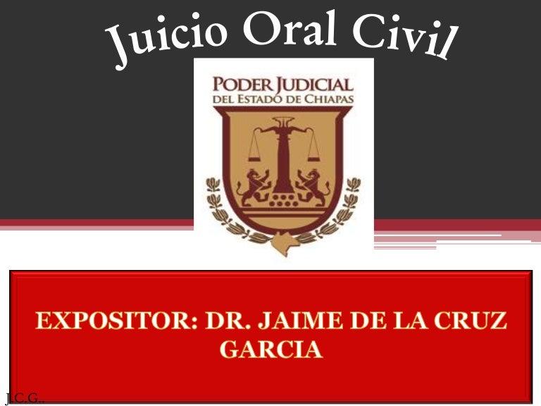 Diapositivas juicio oral en materia civil ccuart Choice Image