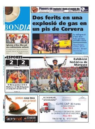 Bondia Lleida 12112012