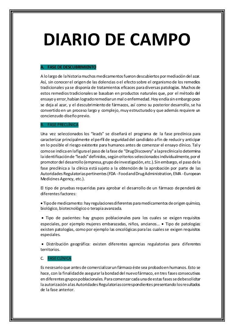 Diario de campo - Como vallar un campo ...