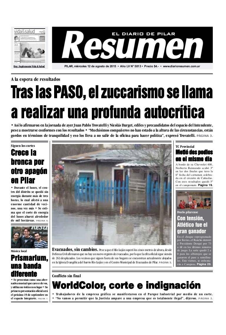 Diario Resumen 20150812