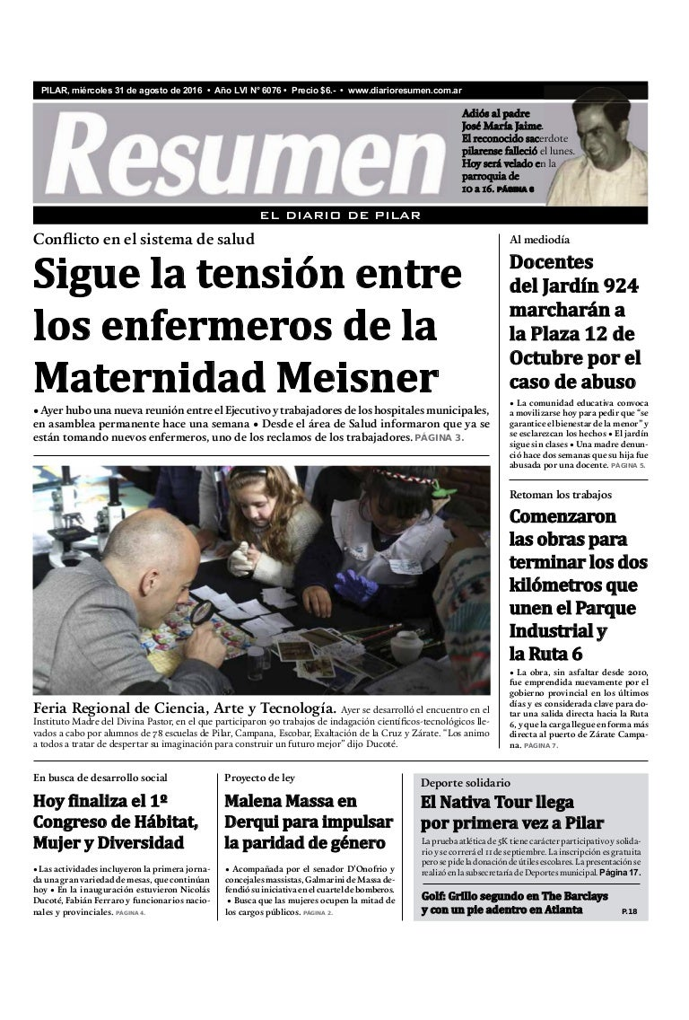 Diario Resumen 20160831
