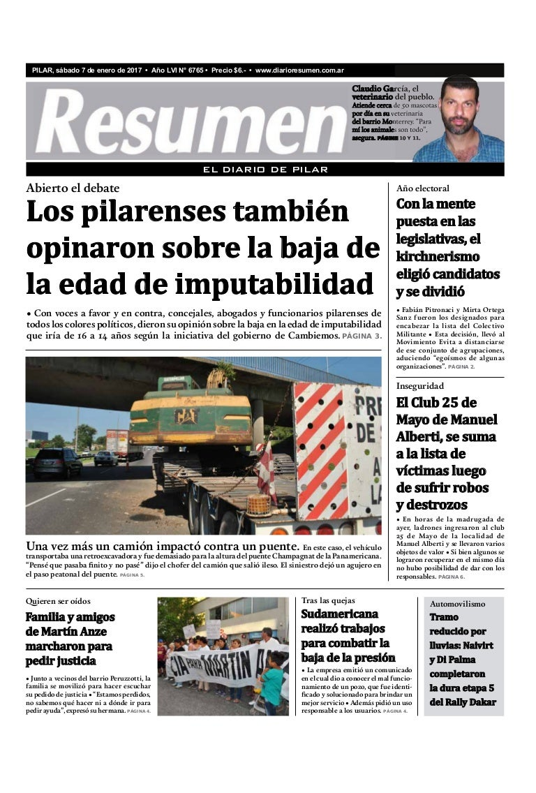 Diario Resumen 20170107