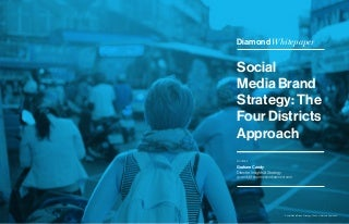Social Media Brand Strategy: The Four Districts Approach
