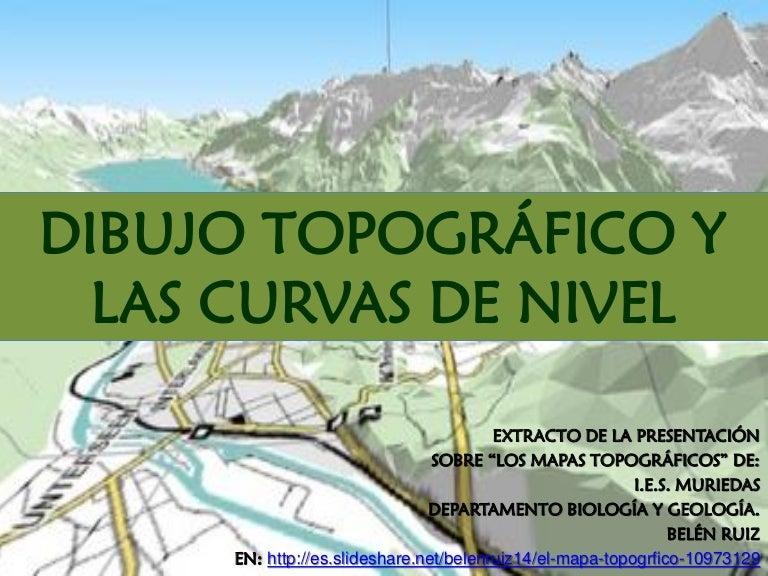Dibujo topografico y las curvas de nivel
