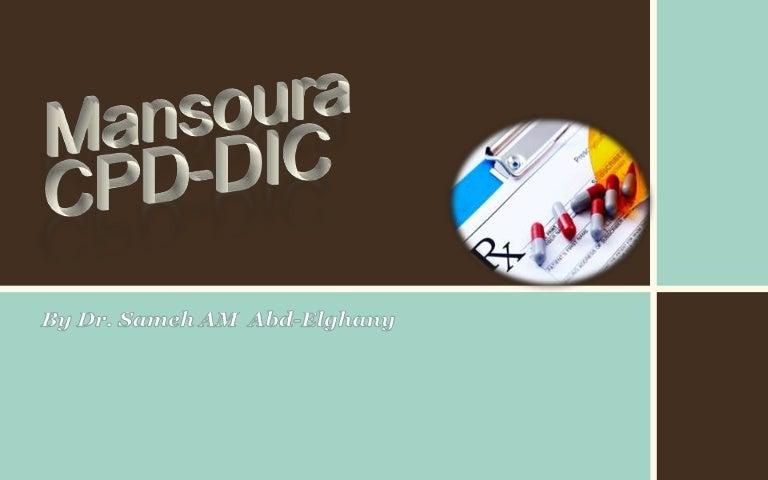 Drug Information Center (DIC