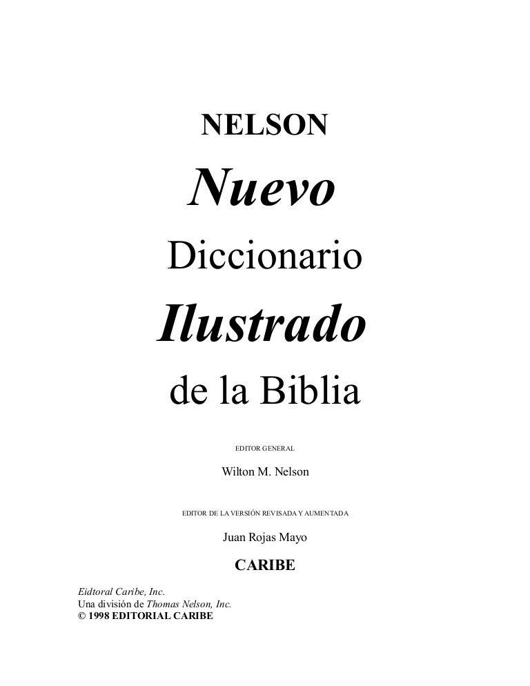Diccionario Biblico Nelson
