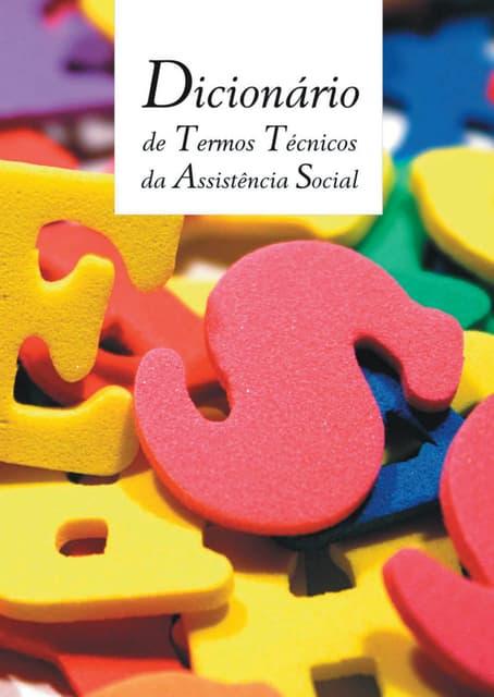 Dicionario de Assistente social