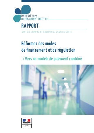 Financement de la santé, rapport Aubert 201£9
