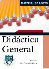 Folleto Didáctica General, UAFAM