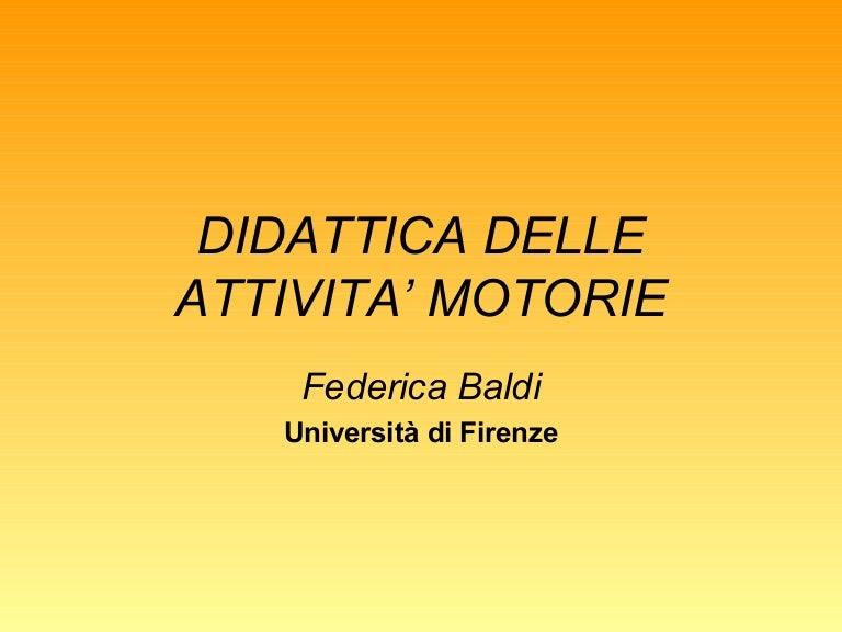 Didattica Attivita Motorie Def