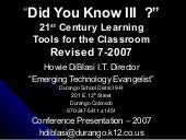 Did You Know Iii Revised 777