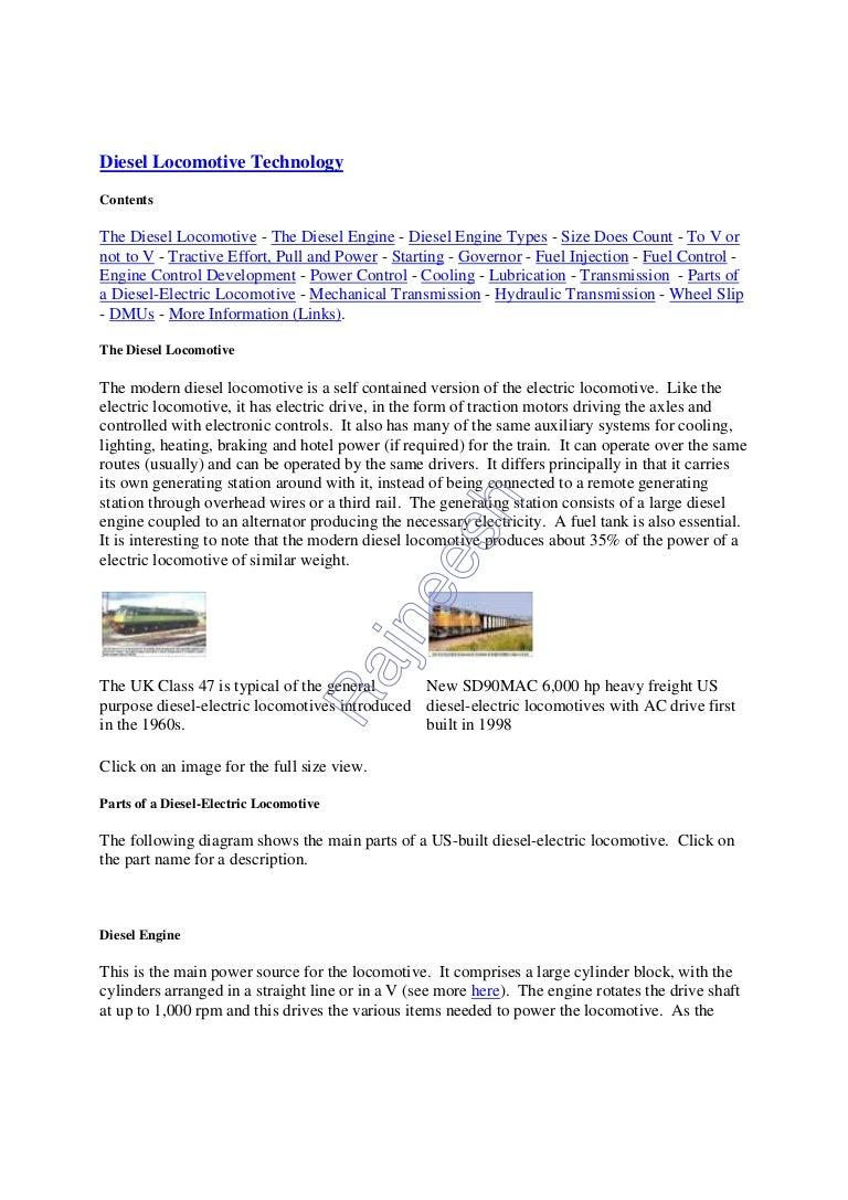 Diesel Locomotive Technology Power Plant Block Diagram Diesellocomotivetechnology 120815130704 Phpapp02 Thumbnail 4cb1345036417