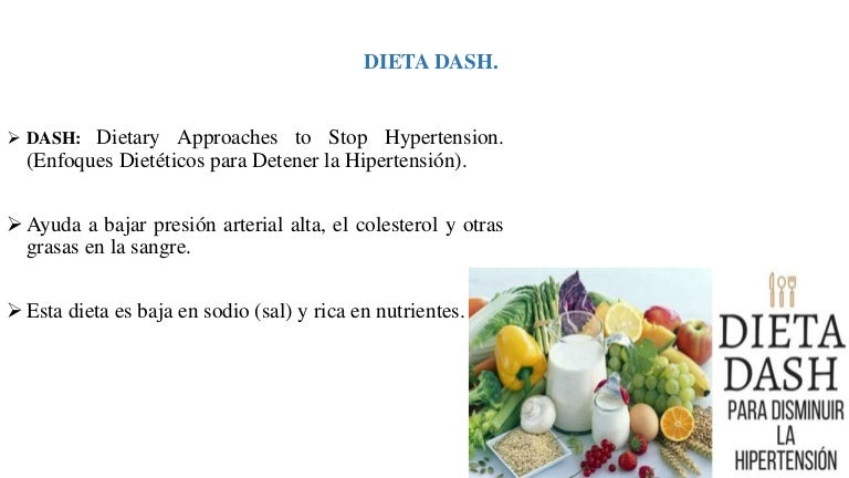 dieta restringida en sal en la dieta para la hipertensión