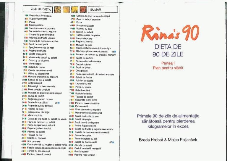 Dieta Rina detaliata: reguli si plan alimentar. Ce sa mananci ca sa slabesti 15 kg in 3 luni