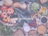 diet management app