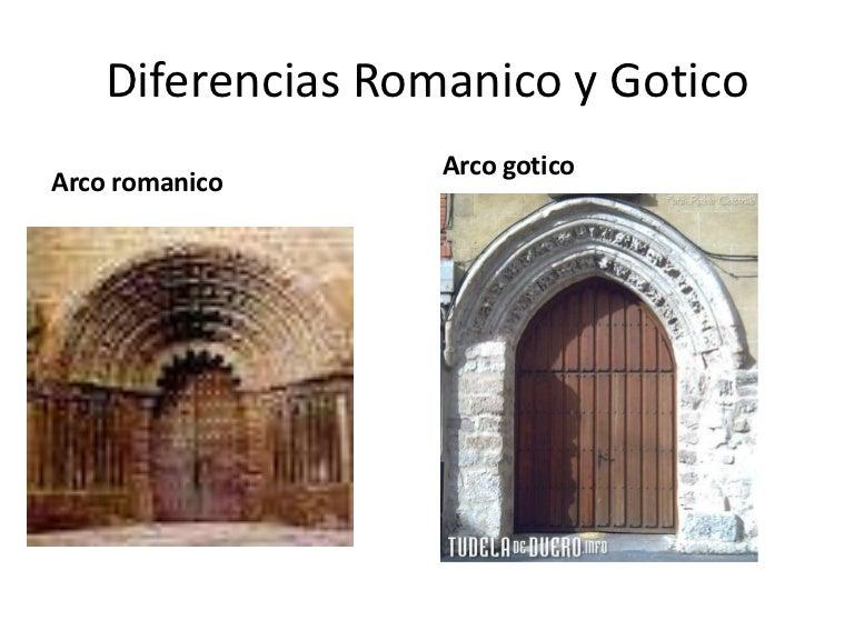 Diferencias Romanico Y Gotico