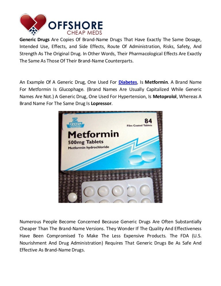 Difference between generic and brand name drugs offshore cheap meds