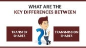 View Complete Details About Difference Between Share Transmission & Share Transfer?