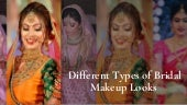 Different Types Of Bridal Makeup Looks For Bridal