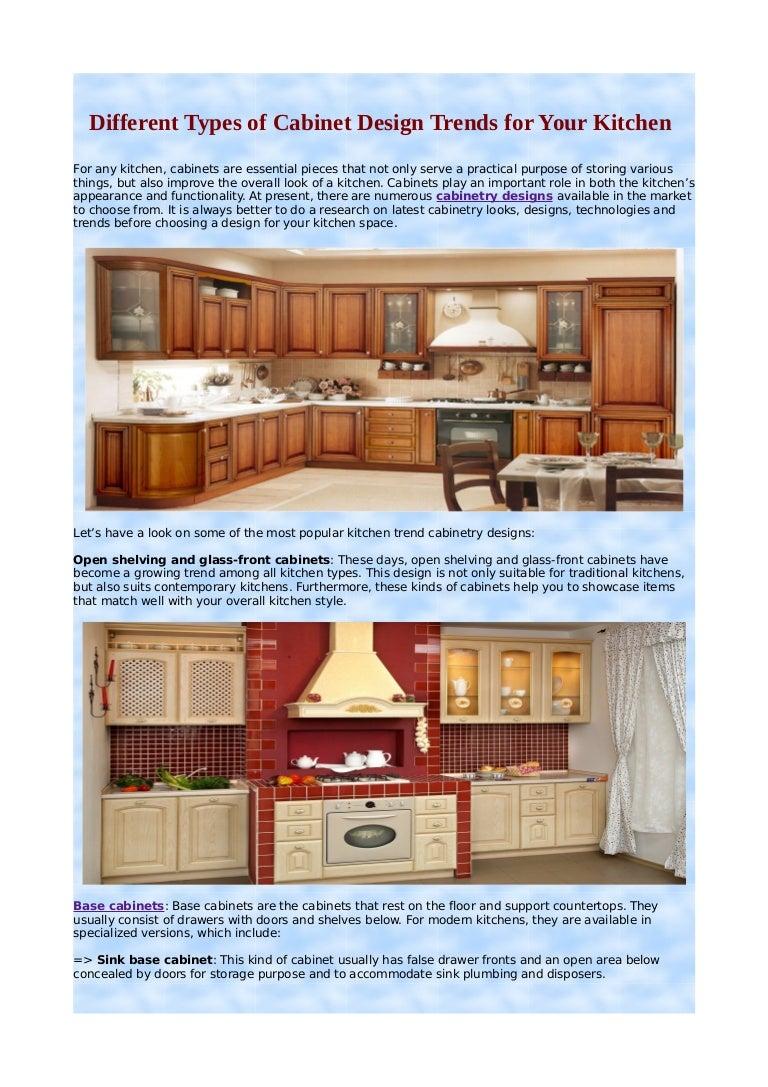 Kitchen base cabinet types - Kitchen Base Cabinet Types 45