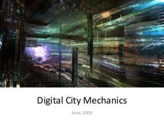 Digital City Mechanics