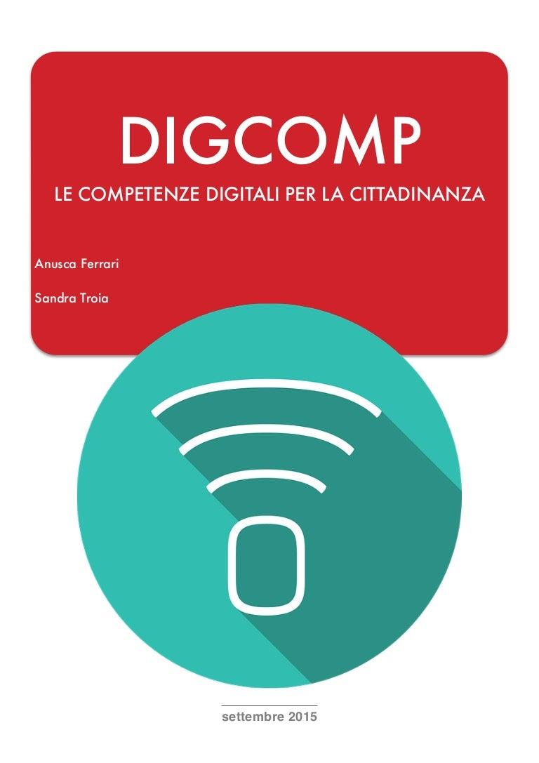 DIG P Le Petenze Digitali Per La Cittadinanza Anusca Ferrari S…