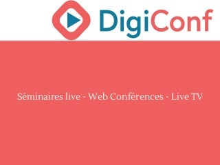 Digiconf webinar solution