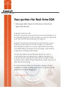 Remedy IT flyer Real-Time SOA