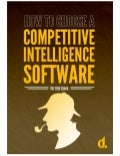 How To Choose Competitive Intelligence Software