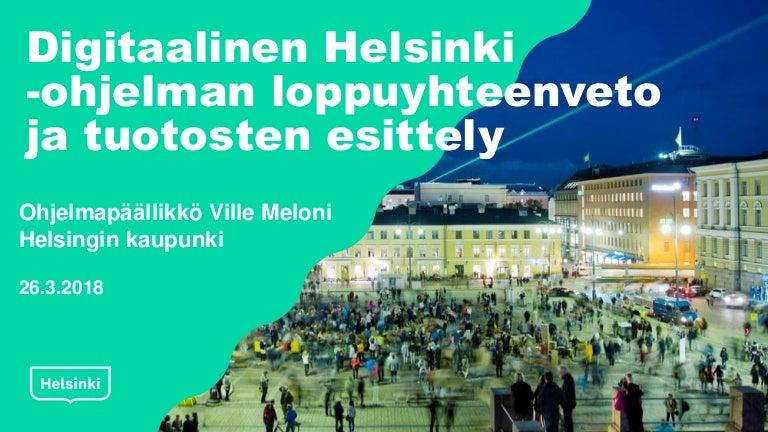 Helsinki Päivä Ohjelma